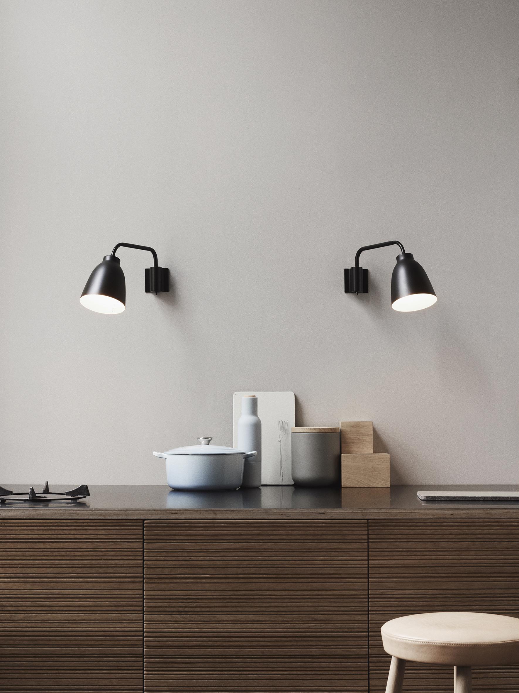 Caravaggio Wall Lamp Espresso Moments