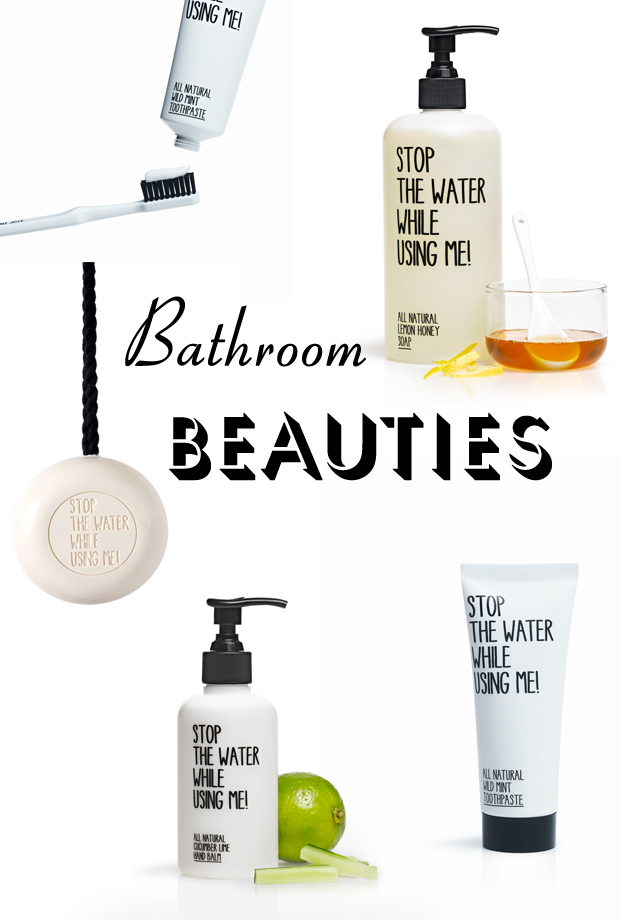 bathroom goodies