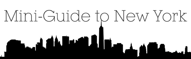 Mini Guide New York header