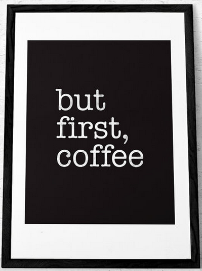 DesignLetters but first coffee etsy
