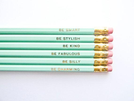 mint pencils