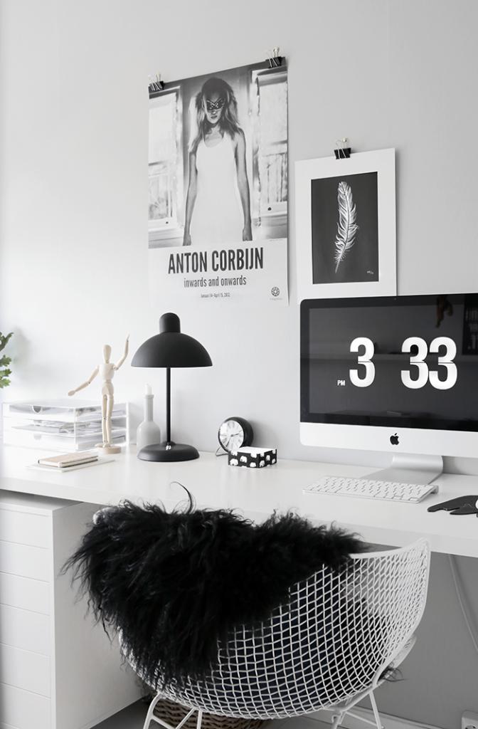 Grey-home-office via stylizimo