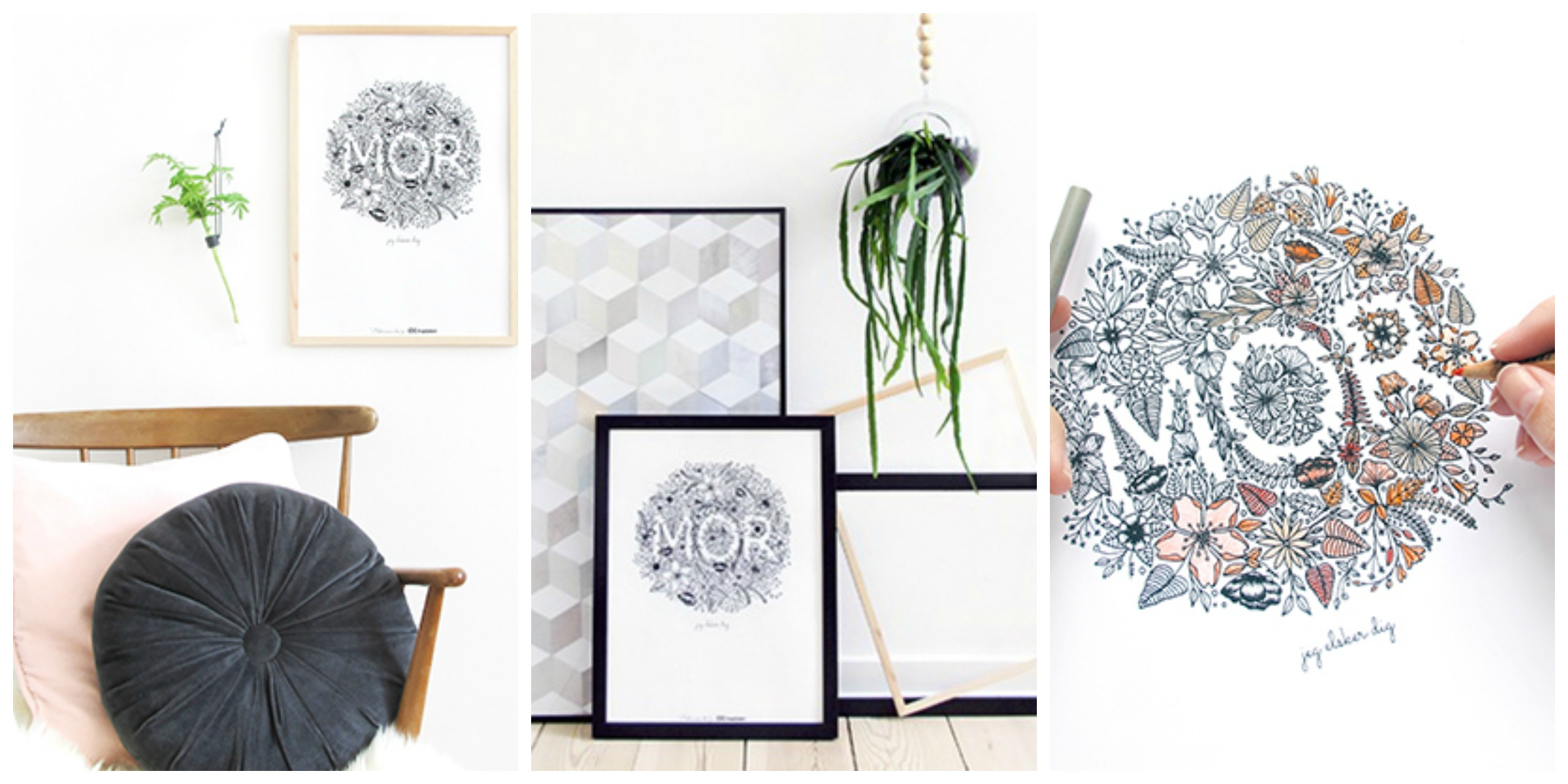 Mors day print idemøbler