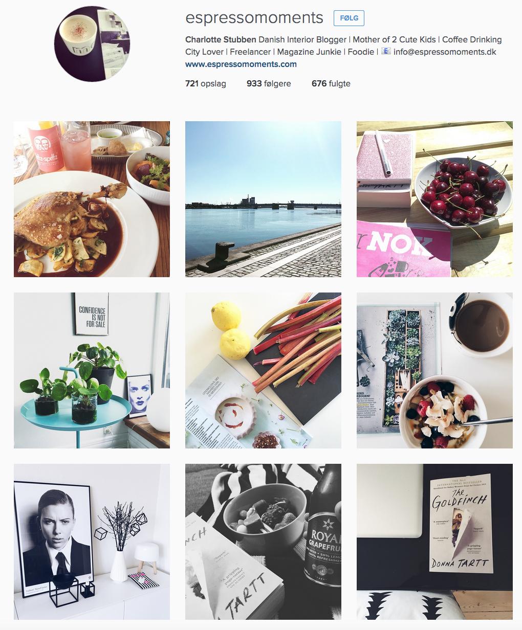 Espresso Moments on Instagram