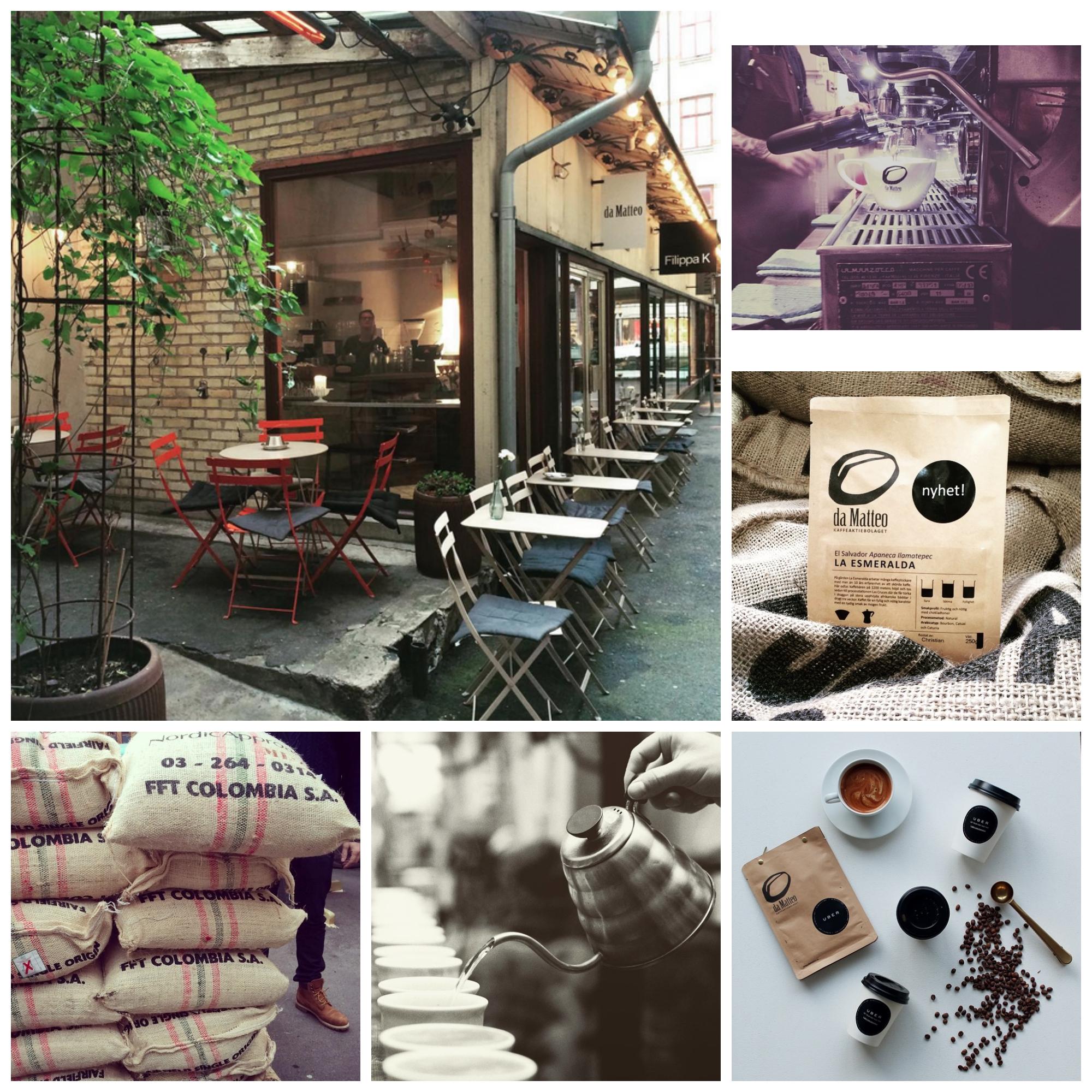 Da Matteo Instagram Collage