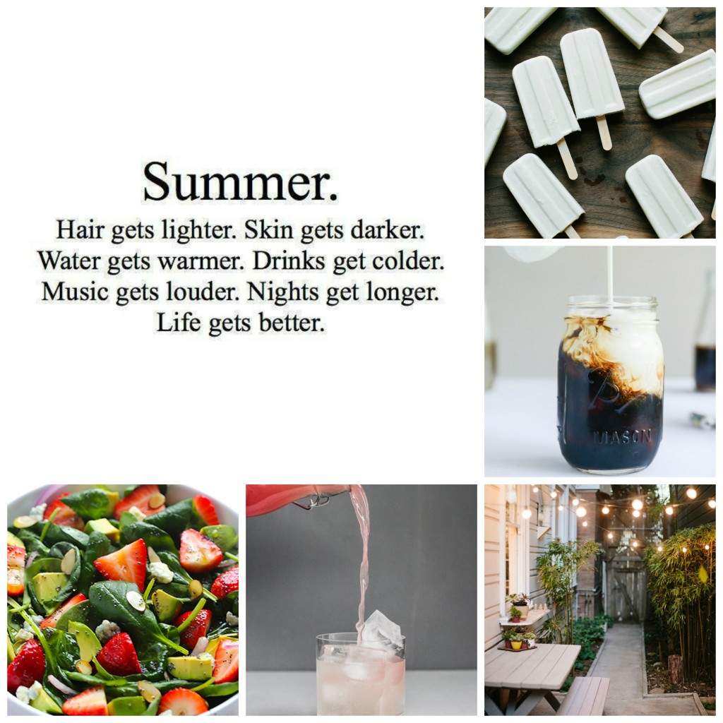Summertime Collage