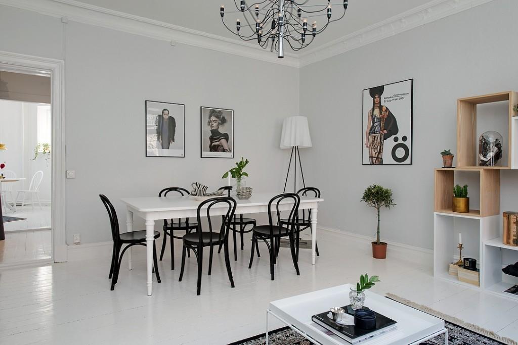 Alvhem home dining area