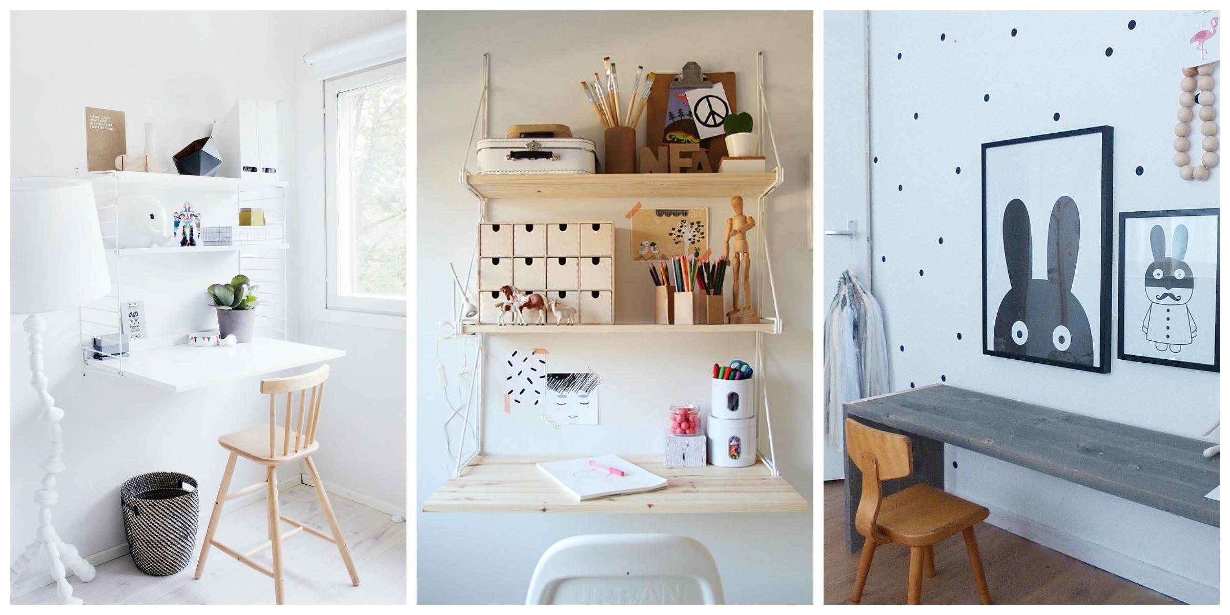 back to school desk inspiration espresso moments. Black Bedroom Furniture Sets. Home Design Ideas
