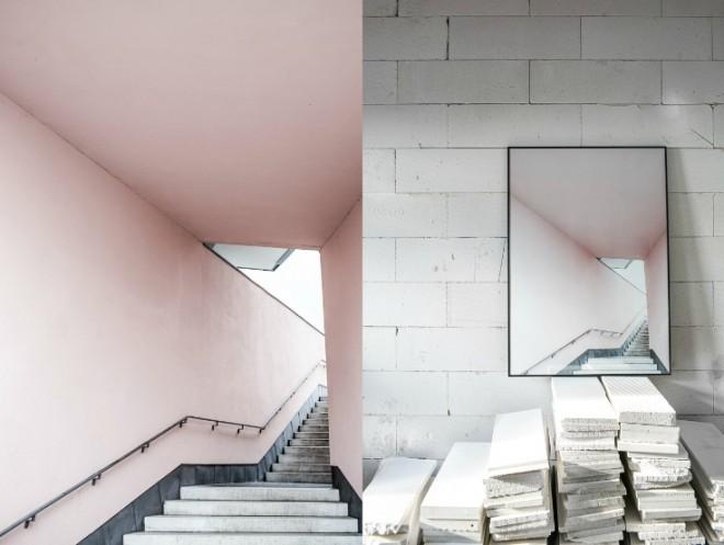 Pink stairs annaleena se