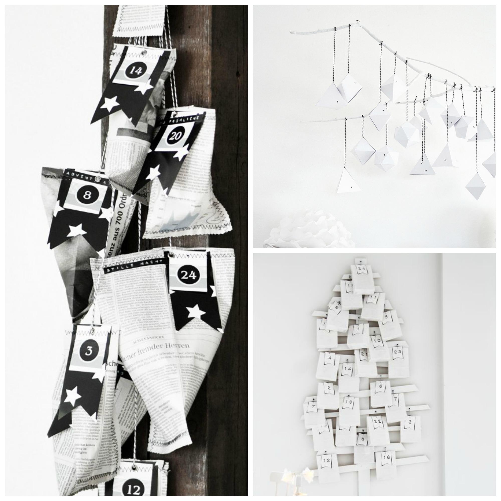 advent calendar part 2 bw Collage