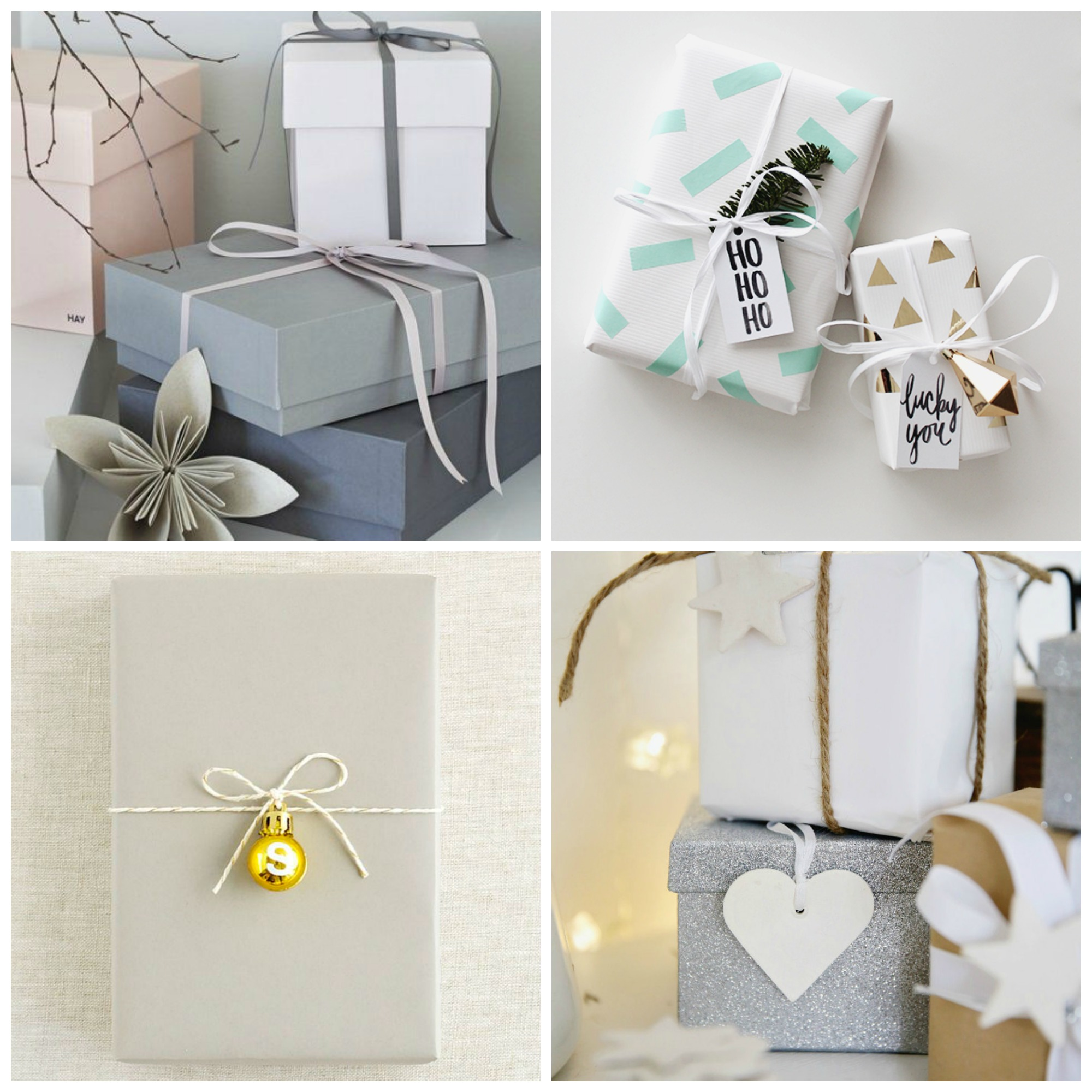 light gift wrapping