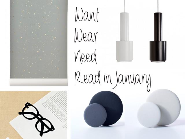 Want wear need read in january