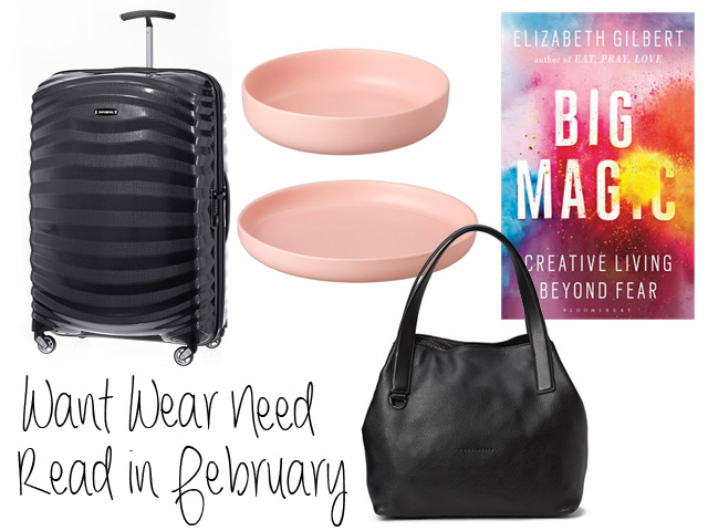 Want wear need read in february