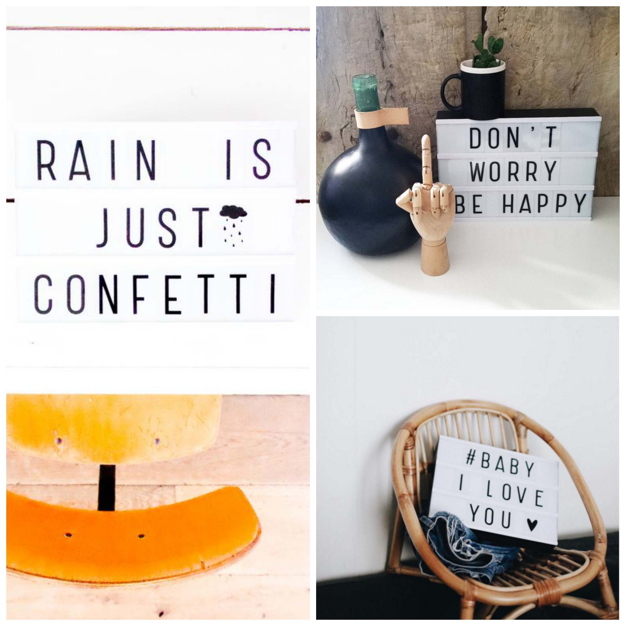 Lightbox via Instagram Collage