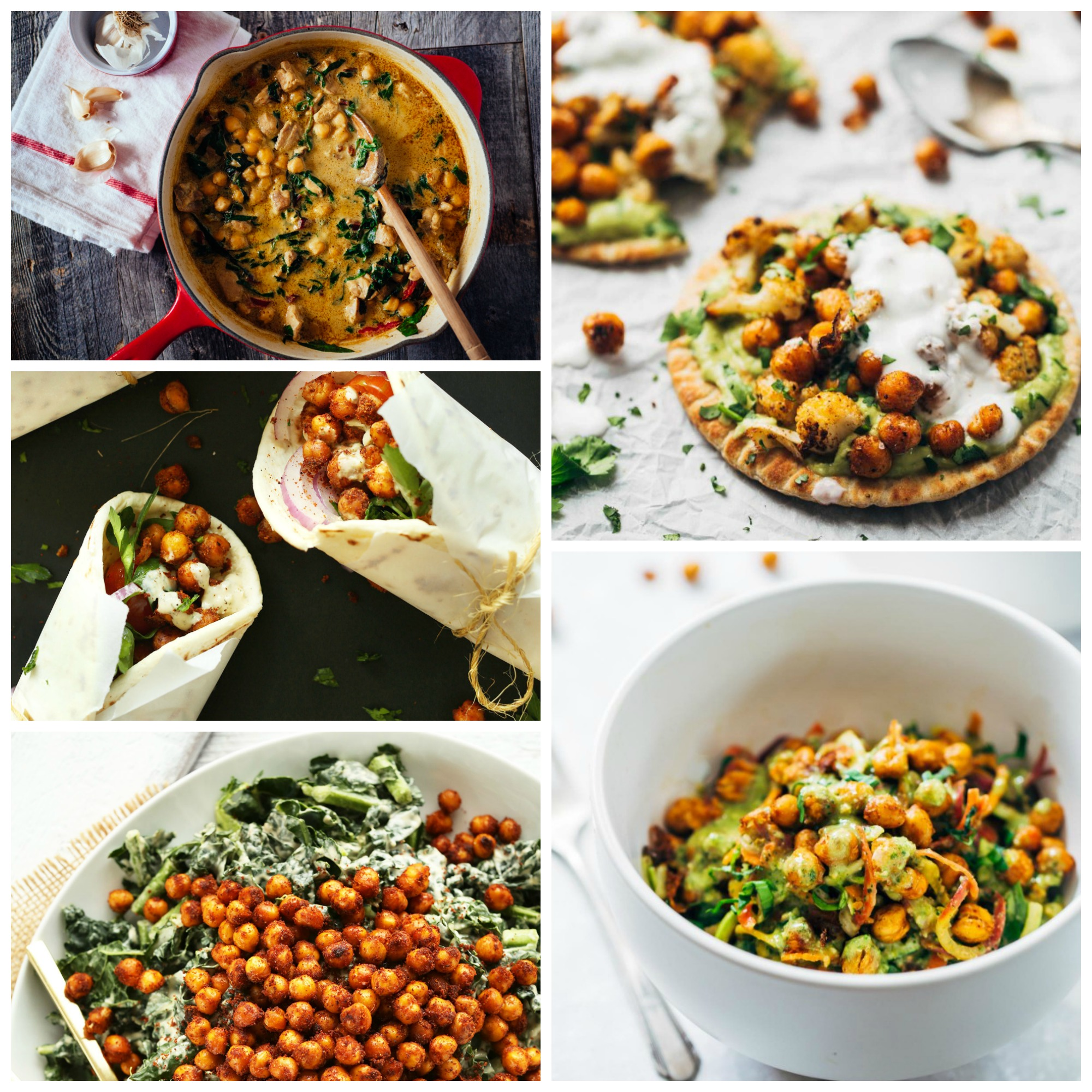 chickpea Collage