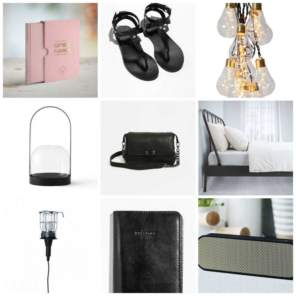 My wishlist june Collage