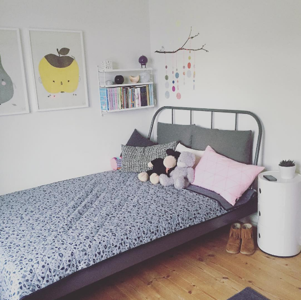 Tweend bedroom ikea bed