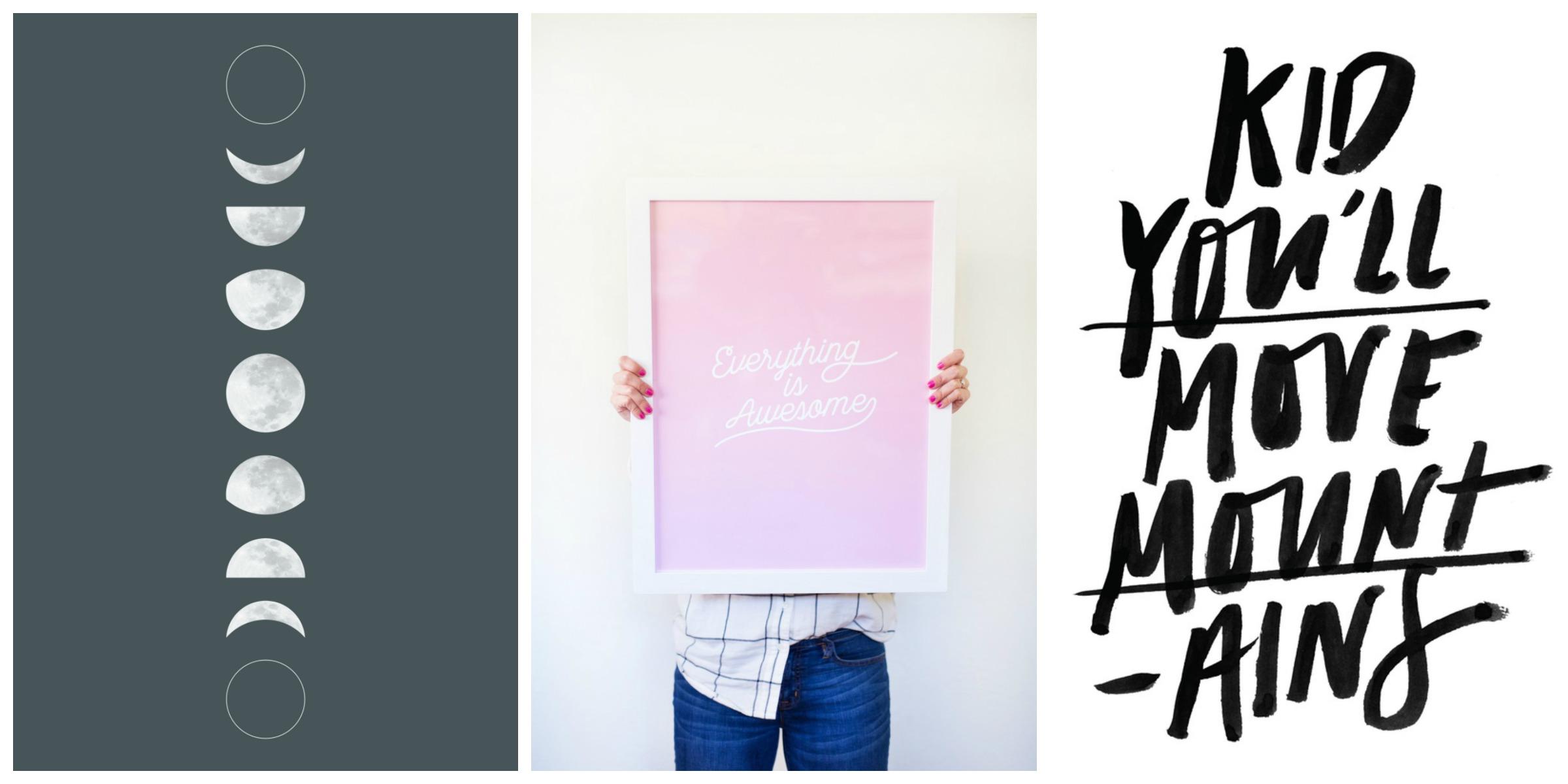 free prints tween bedroom