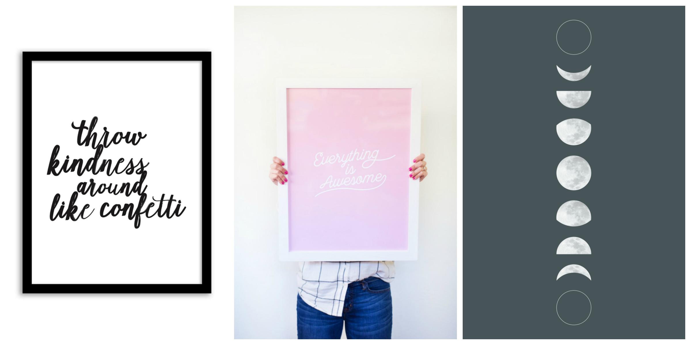 free prints tween bedrppm Collage