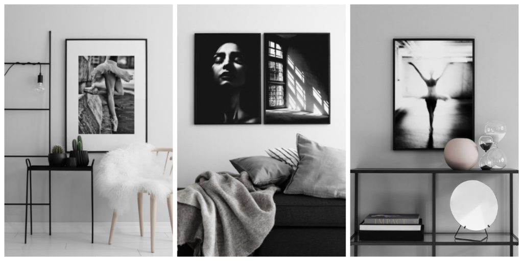 New prints on the wall
