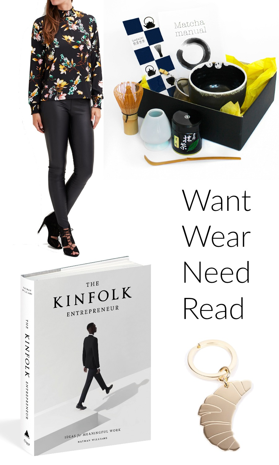 Want Wear Need Read October