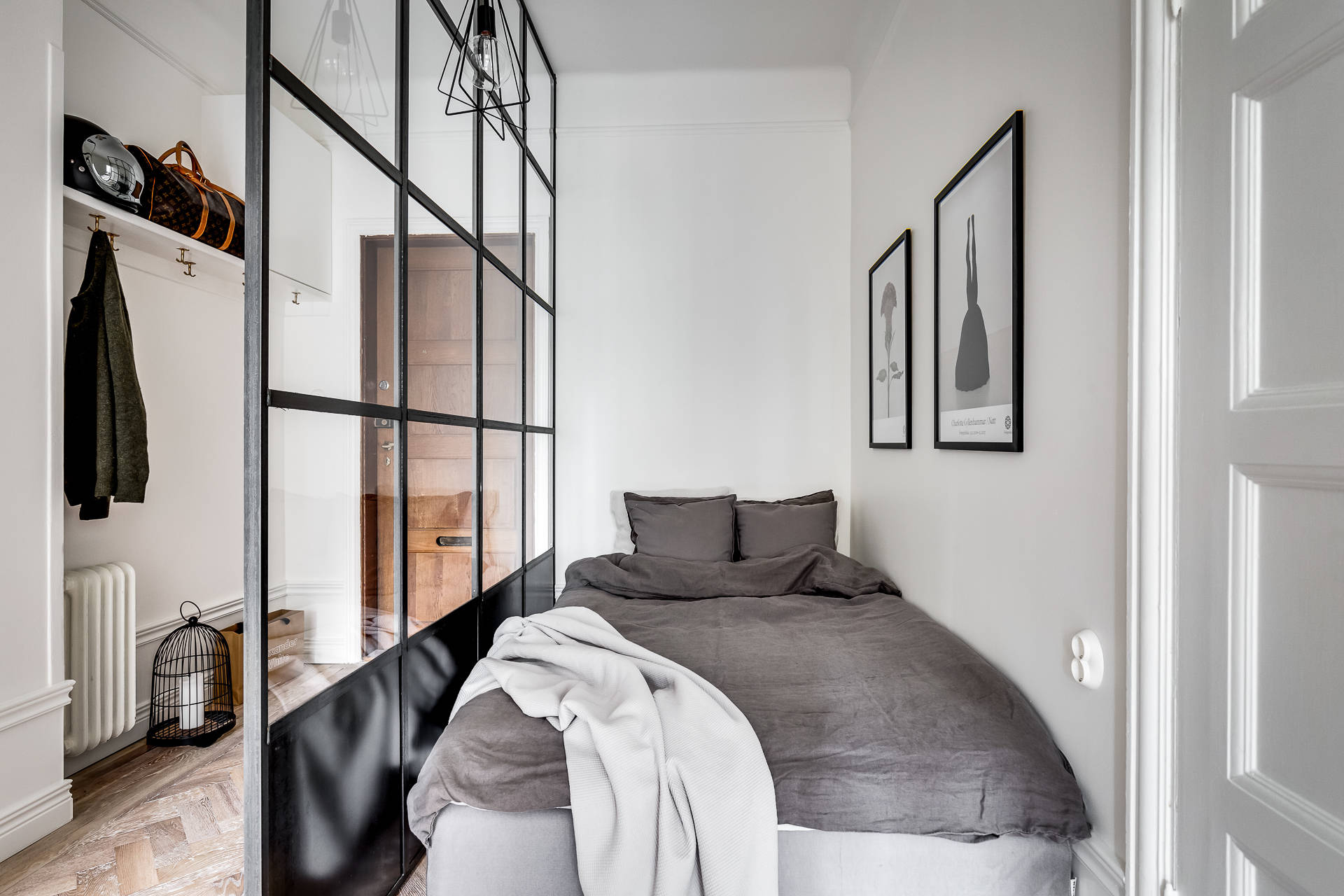 bedroom wall via planete deco
