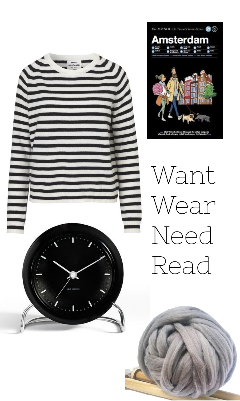 Want wear need read November