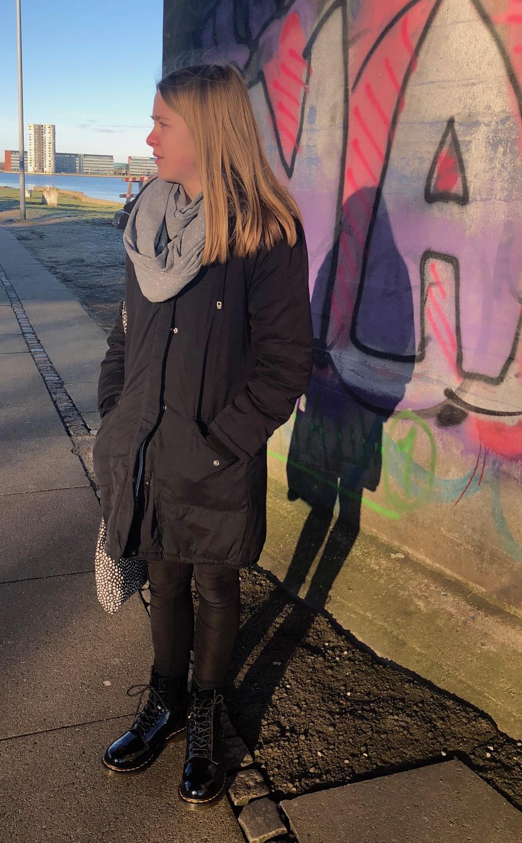 Dr Martens boots grafitti