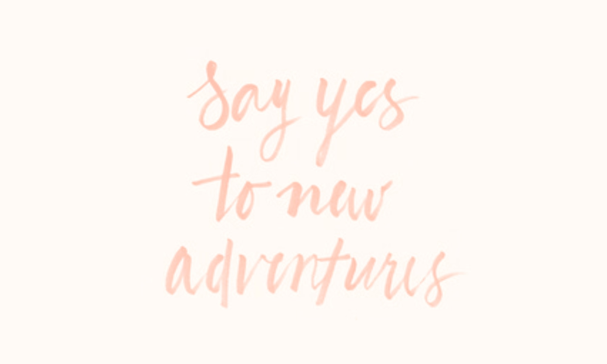 say yes pink