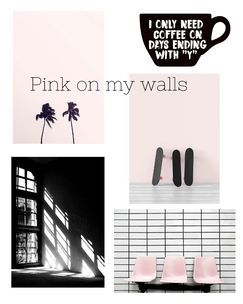 Pink on my walls