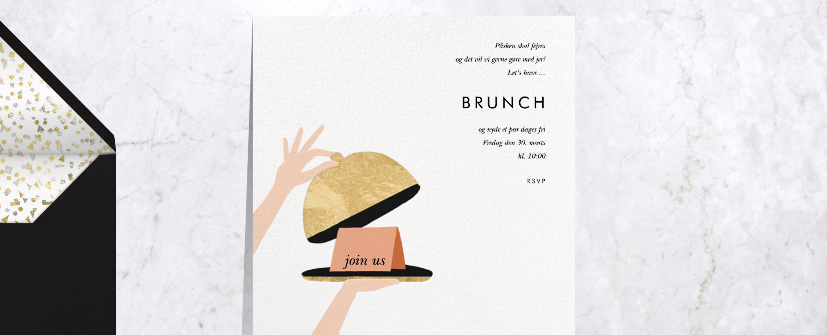 Paperless Post invitation Easter Brunch
